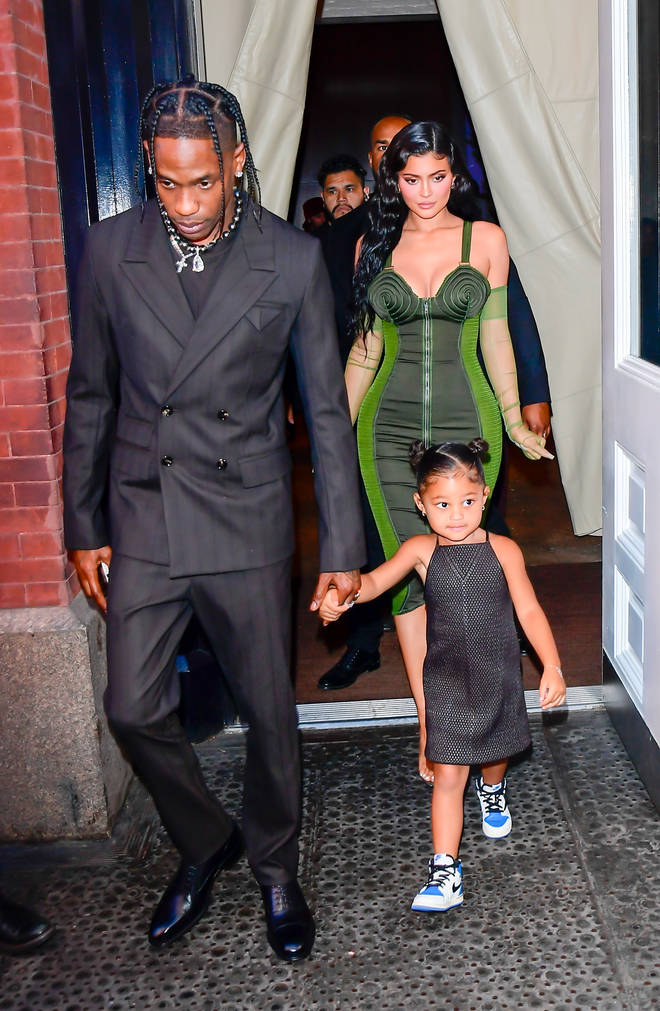 Kylie Jenner and Travis Scott had daughter Stormi in 2018