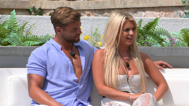 Liberty and Jake split during Love Island