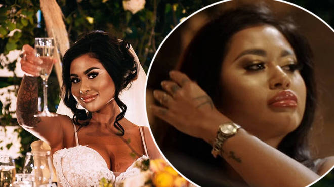 Nikita was removed Married at First Sight UK