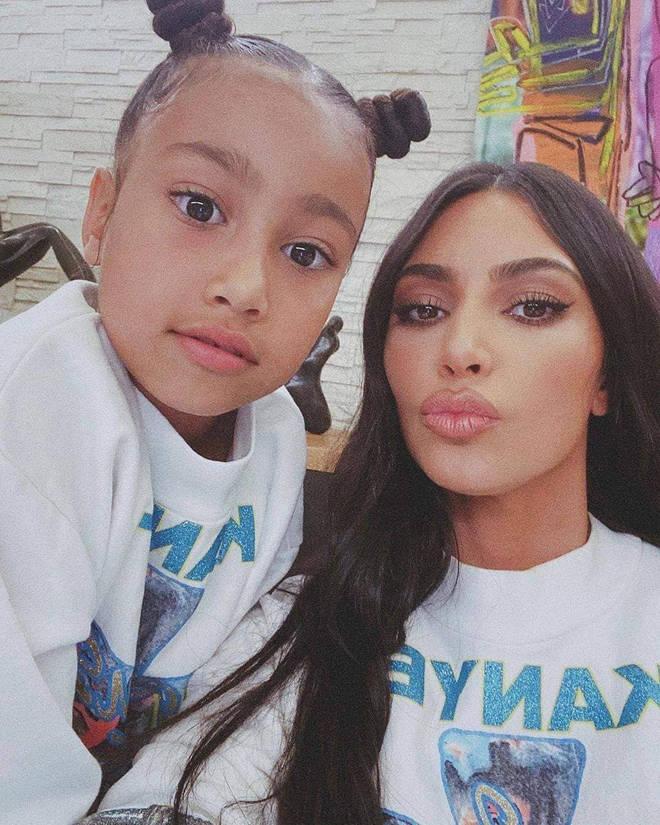 North West roasted Kim Kardashian in a new clip