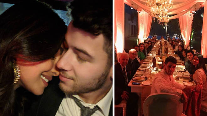 Nick Jonas and Priyanka Chopra.