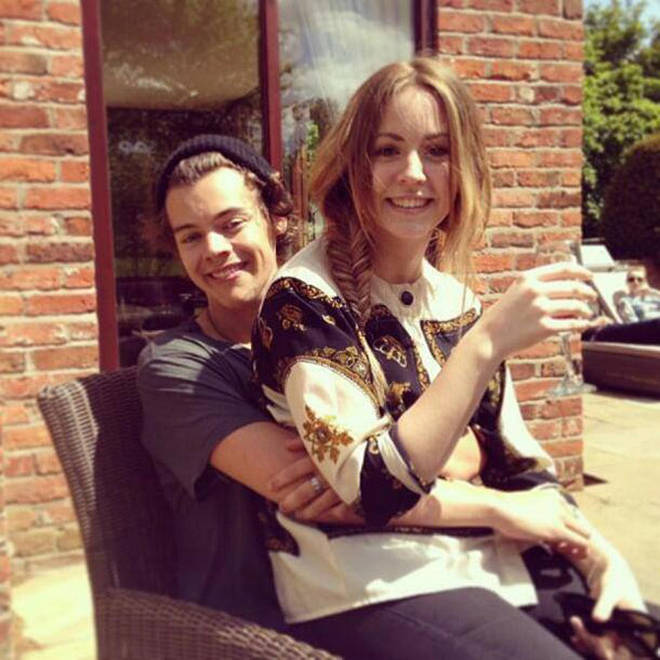Harry Styles' sister Gemma responded to the viral photo