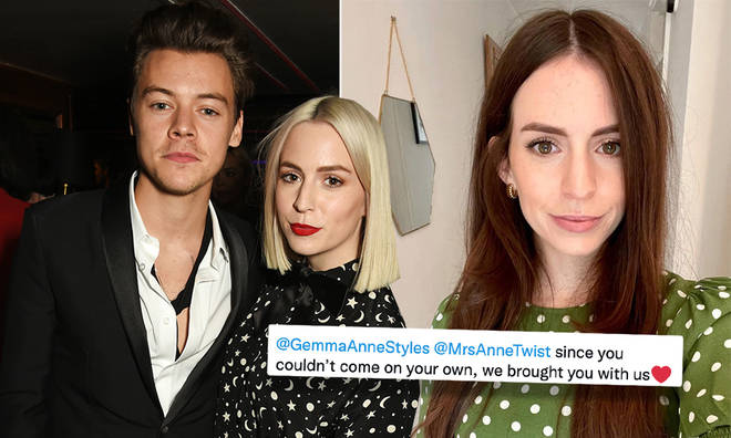 Harry Styles' sister Gemma has responded to a viral fan photo