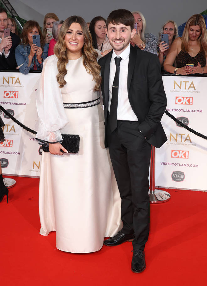 Pete Sandiford revealed at the NTAs he's become a father