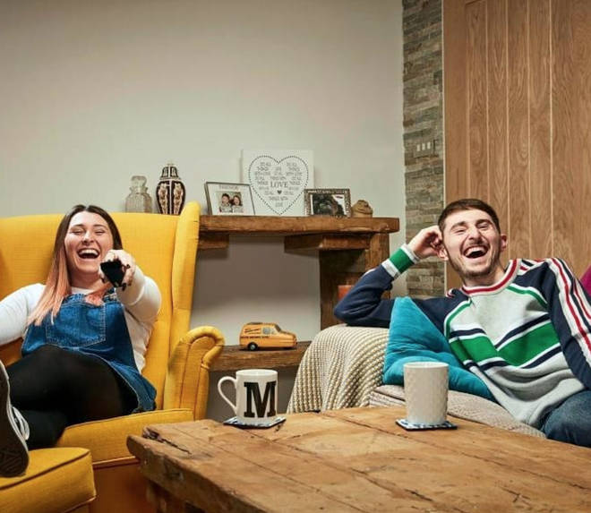 Pete and sister Sophie on Gogglebox