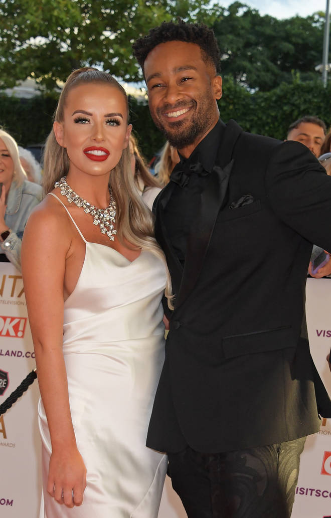 National Television Awards 2021 - Faye Winter and Teddy Soares
