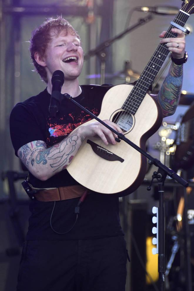 Ed Sheeran will debut 'Shivers' at the VMAs