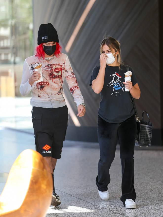 Addison Rae and Omer Fedi began dating in summer 2021