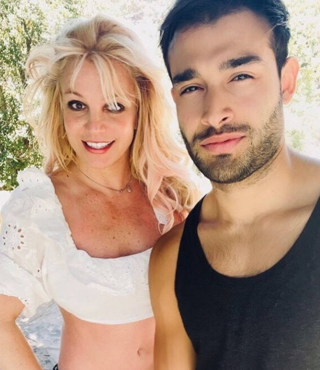Sam Asghari has supported Britney Spears through her conservatorship battle