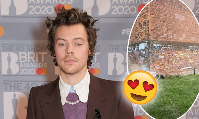 Harry Styles' hometown is filled with tributes to the singer