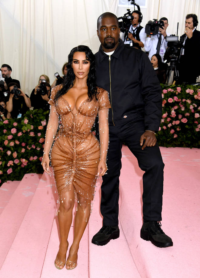 Did Kanye West attend the 2021 Met Gala with Kim Kardashian?