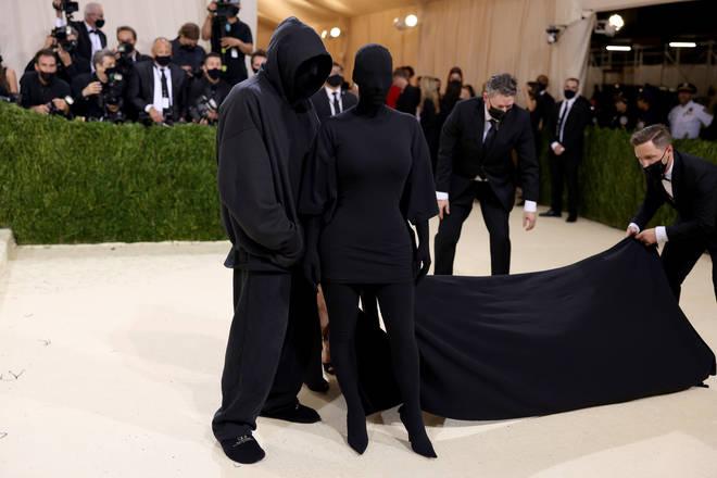 Kim Kardashian attended the 2021 Met Gala dressed in Balenciaga