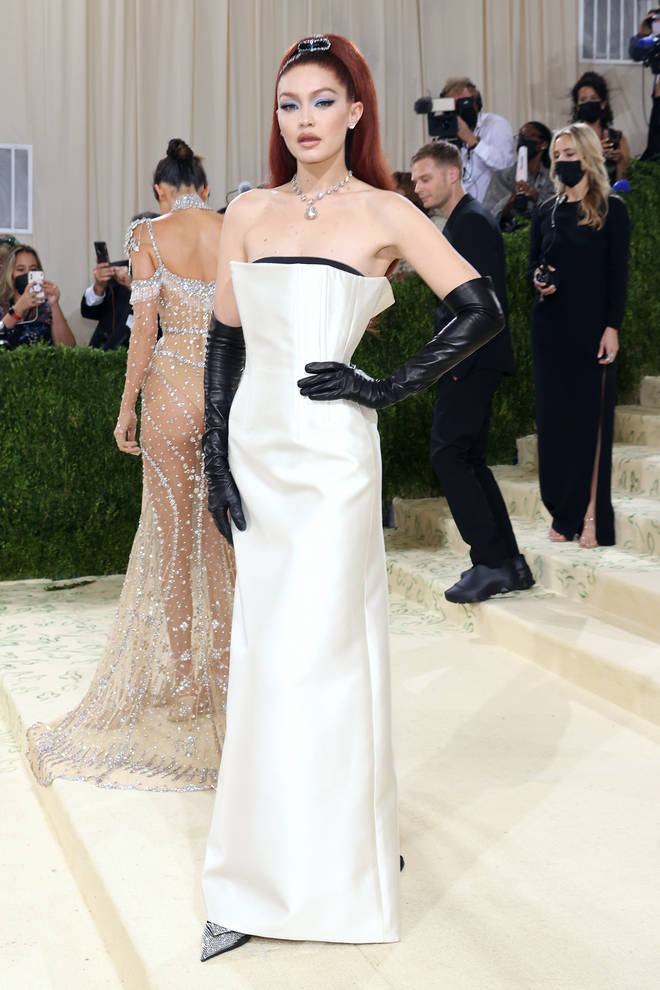 Gigi Hadid channels 60s glamour at the MET