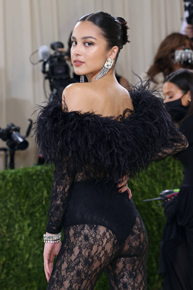 Olivia Rodrigo made her MET Gala debut