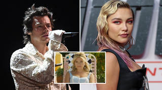 Harry Styles and Florence Pugh can be heard singing on the DWD teaser