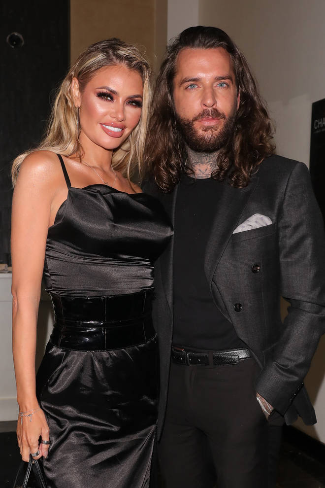 Chloe Sims and Pete Wicks were seen together at the NTAs