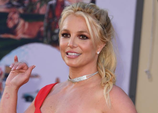 Britney revealed that she's taking a break from Instagram