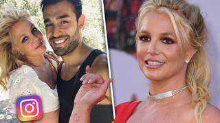 Why did Britney delete her Instagram?