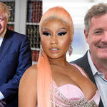 Everything you need to know about what's happening with Nicki Minaj's feud with Boris Johnson and Piers Morgan