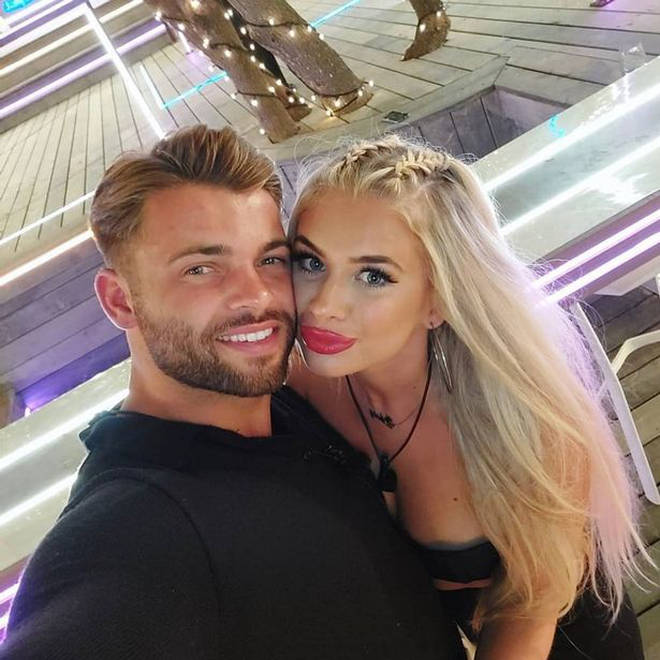 Liberty and Jake split days before the Love Island final