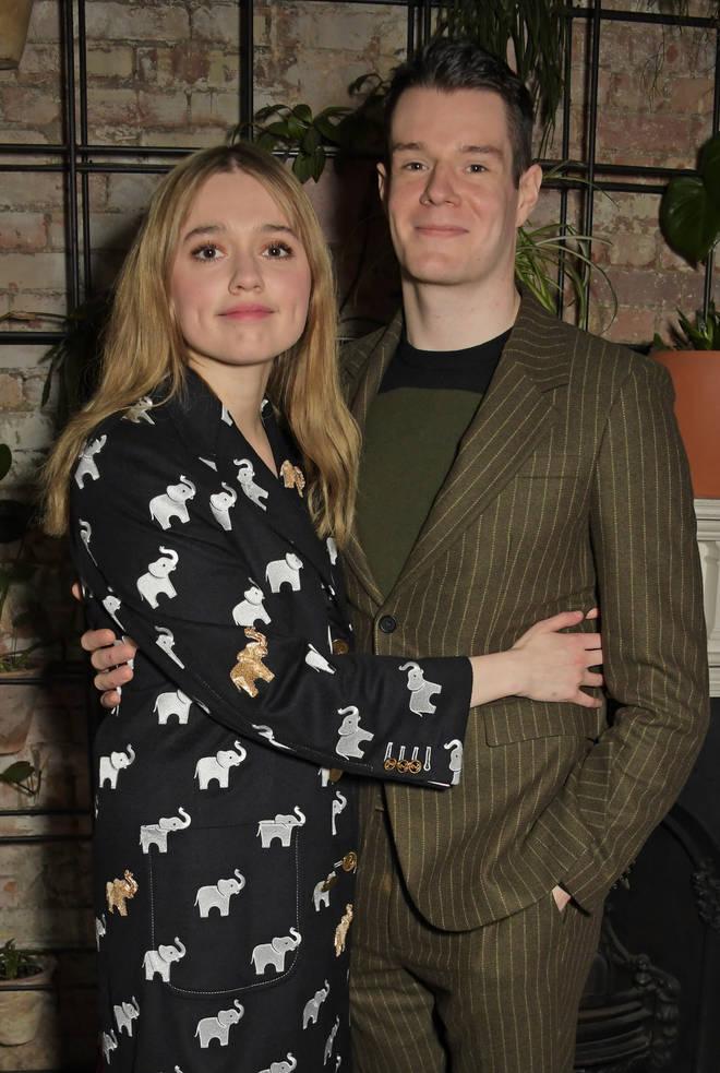 Aimee Lou Wood and Connor Swindells split in 2020