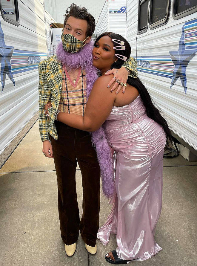 Lizzo and Harry Styles are super close