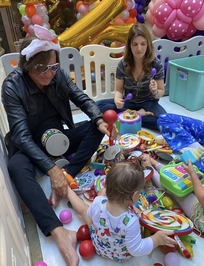 Inside baby Khai's first birthday party