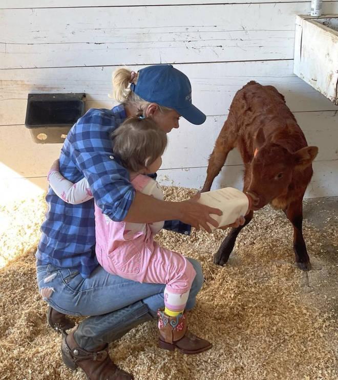 Yolanda Hadid shared rare snaps with baby Khai