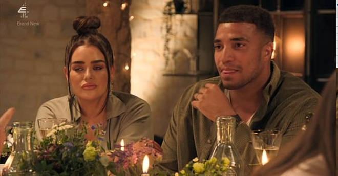 Josh is married to Amy on MAFS UK
