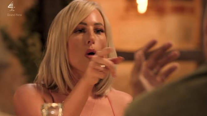 Morag and Josh became embroiled in a row at the dinner party on MAFS UK