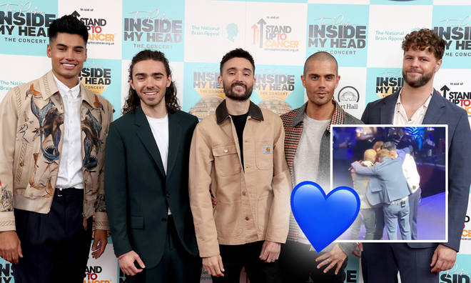 The Wanted had their first show in seven years