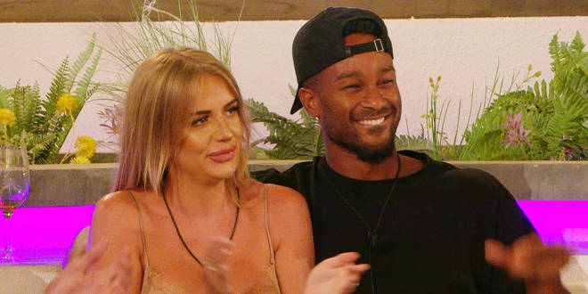 Faye and Teddy said they loved each other in private in Love Island