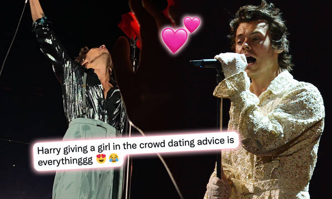 Harry Styles had the most adorable on-stage moment
