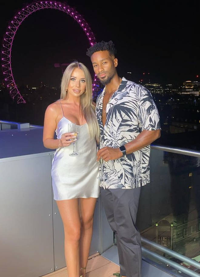Faye and Teddy reached the Love Island final