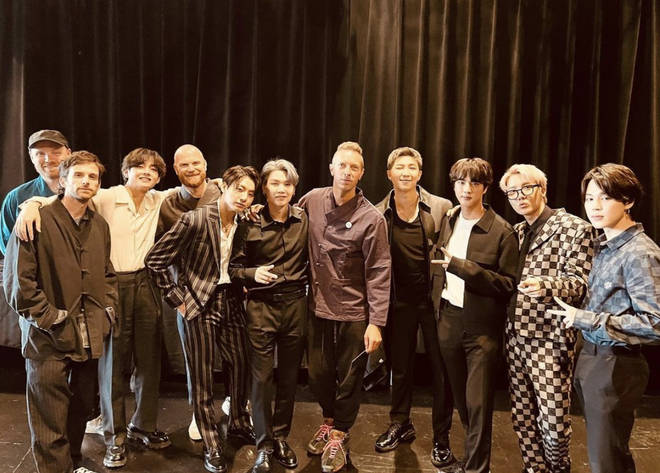 Coldplay have teamed up with BTS for their new song 'My Universe'