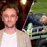 Tom Felton is recovering after suffering from a 'medical incident' during a golf game