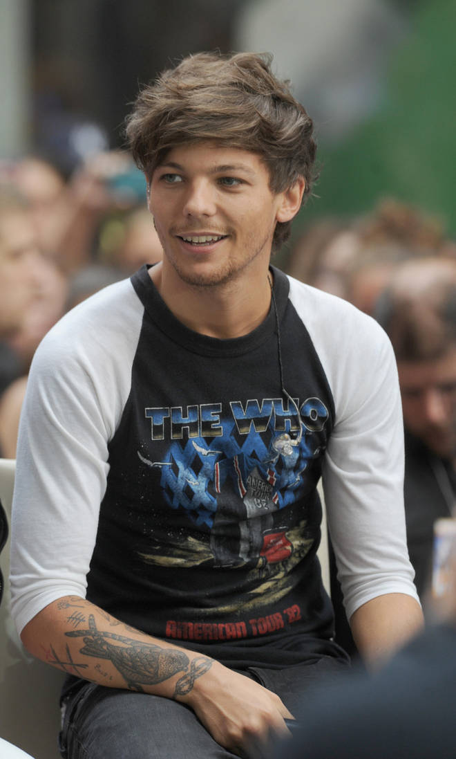1D's former drummer was asked about working with Louis Tomlinson