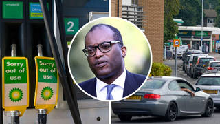 The Government hopes suspending competition law will help with petrol station shortages
