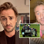 Tom Felton assured fans he's recovering after collapsing at a golf tournament