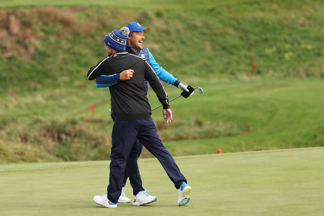 Tom Felton was at the Ryder Cup celebrity event when he collapsed