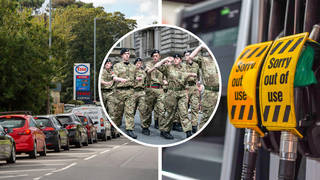 Some army tanker drivers are on standby and will be deployed if necessary