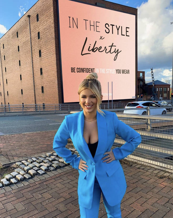 Liberty Poole is now a brand ambassador for In The Style