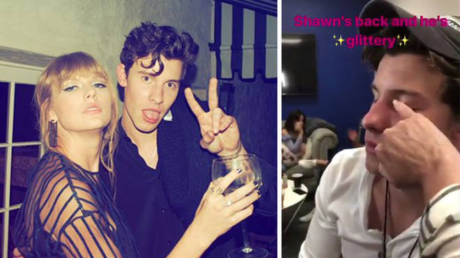 Shawn Mendes and Taylor Swift.