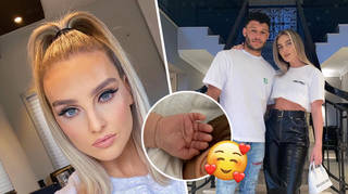 Perrie Edwards welcomed baby Axel in August