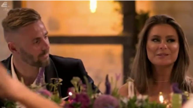 Tayah and Adam appear to shock their co-stars on Tuesday night's MAFS UK