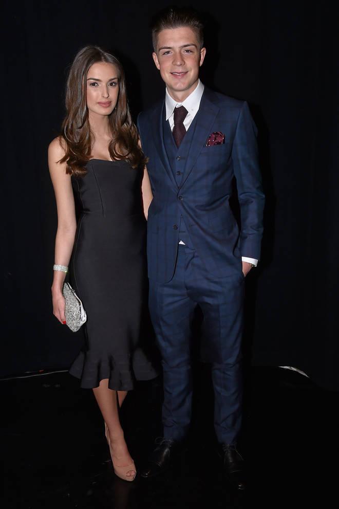 Jack Grealish and Sasha Attwood in 2015