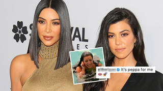 Kourtney Kardashian trolled sister Kim over a KUWTK moment from years ago