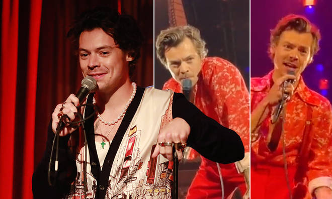 Harry Styles stopped his show to help a fan proposal