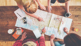 Plan your squad holiday and we'll tell you where to go