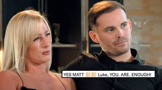Married at First Sight UK fans defended Luke